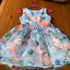 Other - Sz 8 floral orfanza garden party dress